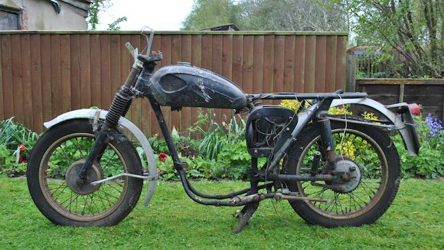 A c.1960 BSA C15 rolling chassis,
