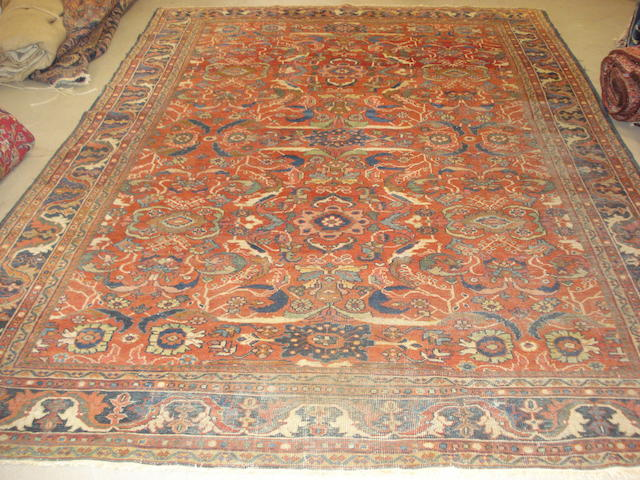A Mahal carpet, North West Persia, 335cm x 231cm