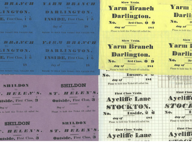 RAILWAYS – DIXON FAMILY and CHAT MOSS. Manuscripts and printed ephemera collected by the civil engineer and Egyptologist Waynman Dixon (1844-1930), principally relating his uncle John Dixon the younger (1796-1865), chief assistant to George Stephenson and Resident Engineer during construction of the Liverpool and Manchester Railway