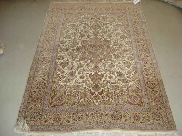 An Isfahan rug, Central Persia, 165cm x 112cm