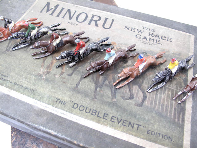 Minoru, The New Race Gameby Jaques & Son