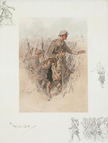 Charlie Johnson Payne, 'Snaffles' (British, 1884-1967) 'A Heilan' Lad.'