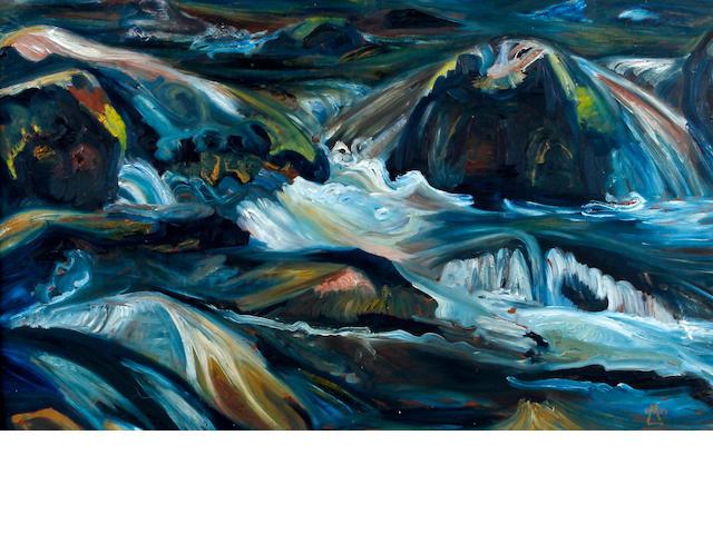 Lionel Miskin (British, 1924) 'Gollitha Falls'