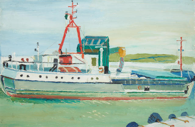 Fred Yates (British, 1922-2008) French Trawler