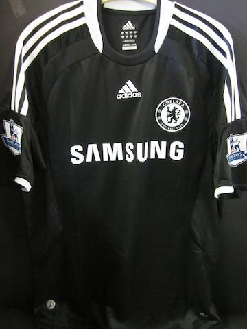 A Michael Ballack Chelsea hand signed shirt