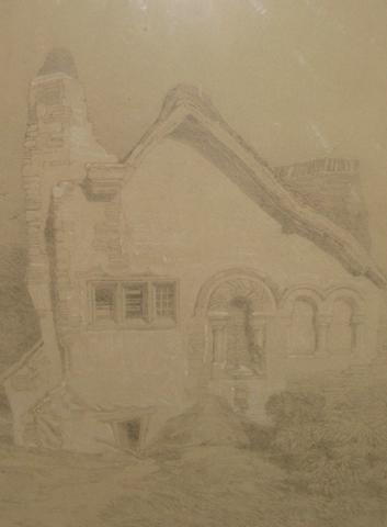 After John Sell Cotman Norman farmstead