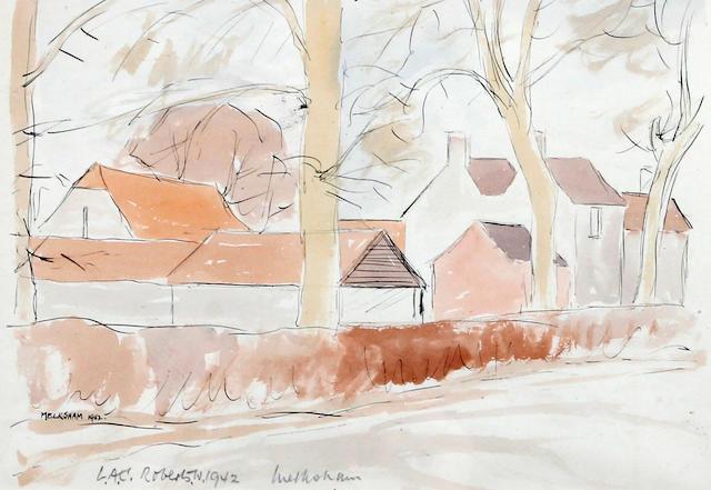 Will Roberts (British, 1910-2000) 'Yr Eifal, Llyn 1937'