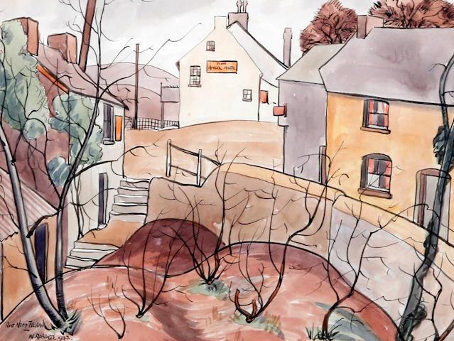 Will Roberts (British, 1910-2000) 'Pont Nedd Fechan'