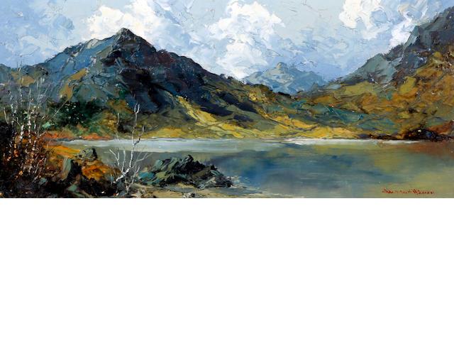 Charles Wyatt Warren (British, 1908-1983) 'Moel Hebog'