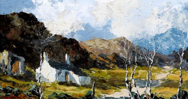 Charles Wyatt Warren (British, 1908-1983) 'Nant Betws near Beddgelert'