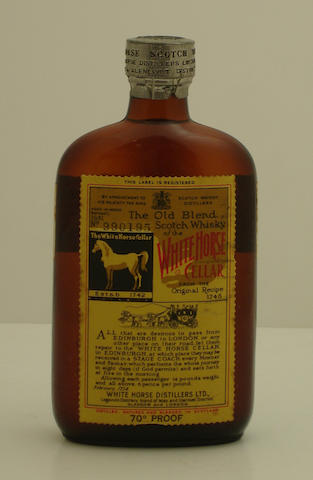 White Horse-Bottled 1951 (half)