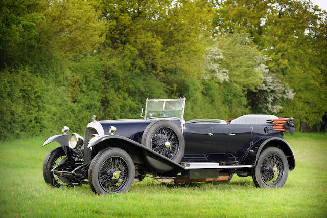 Formerly the property of H.A. Stonor, offered from the Sharpe Family Collection,1925 Bentley 3 Litre Tourer  Chassis no. 886 Engine no. 890