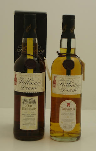 Old Fettercairn-26 year old<BR /> Tamnavulin-24 year old