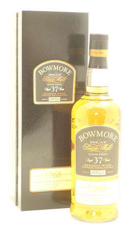 Bowmore Bourbon Wood-37 year old-1968