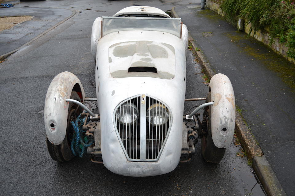1950 Healey Silverstone Roadster  Chassis no. D31 Engine no. 3925