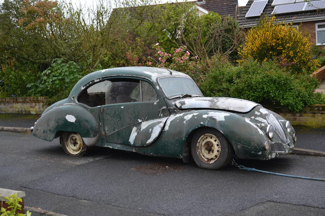 Offered with registration 'JUC 1' 1948 Healey Duncan Sports Saloon  Chassis no. B1711 Engine no. 1233