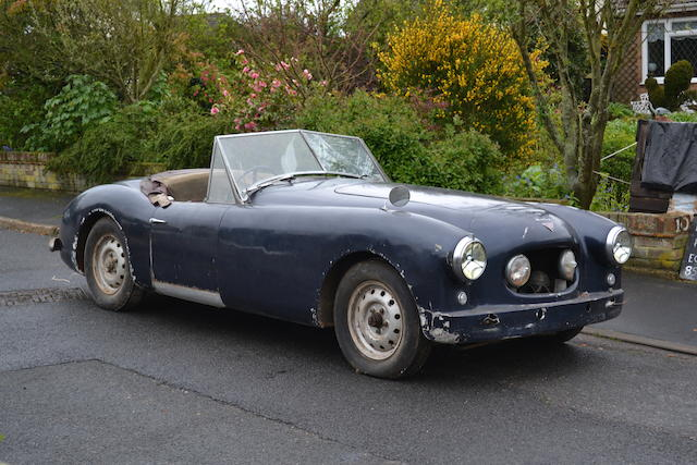 1952 Alvis-Healey Sports Convertible  Chassis no. G514 Engine no. 25314
