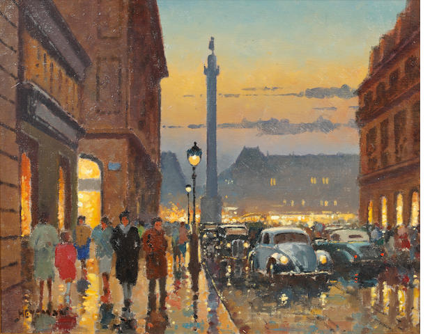 Willem Heytmann (Dutch, born 1950) Place Vendôme, Rue De La Paix