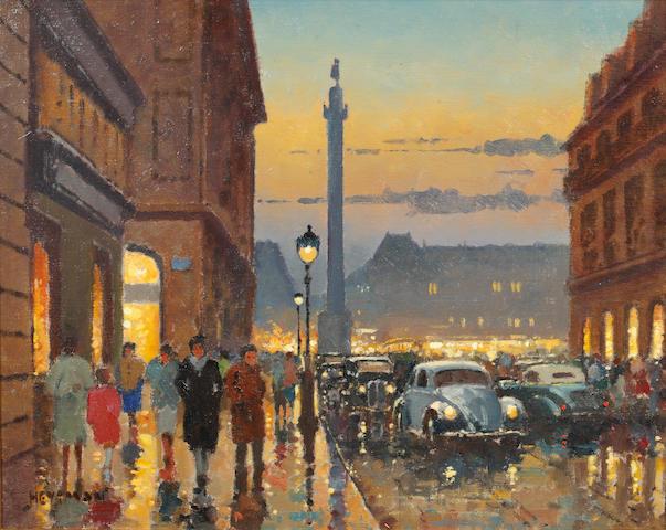 Willem Heytmann (Dutch, born 1950) Place Vendôme, Rue De La Paix