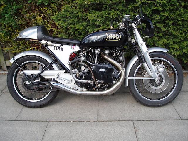 1948/51 Vincent-HRD 998cc Black Lightning Replica Frame no. RC/1/8411, Rear frame no. RC/1/6831 Engine no. F10AB/1/866, Crankcase mating no. J6