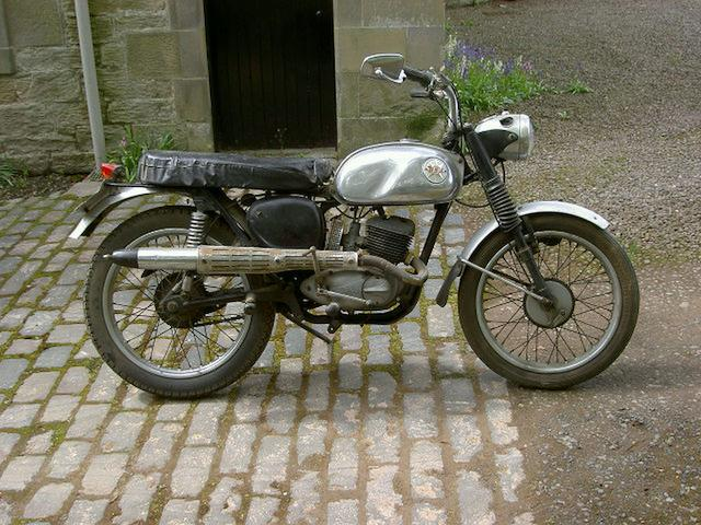 1967 BSA 172cc Bantam Bushman Frame no. BD10A 4983 Engine no. D10A 4983