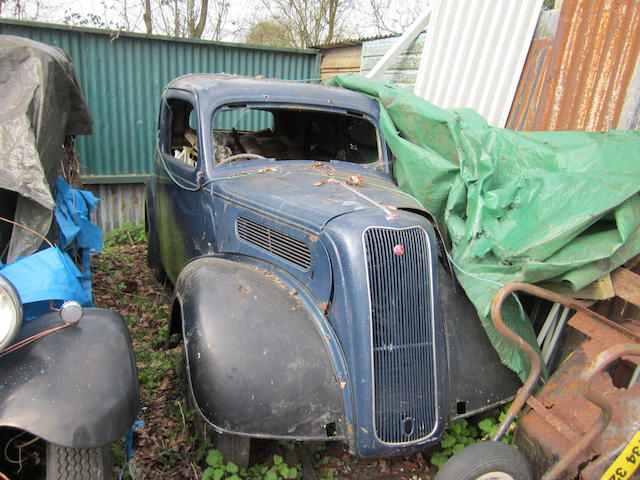 1938 Ford Eight Saloon  Chassis no. Y246812 Engine no. RY1265444