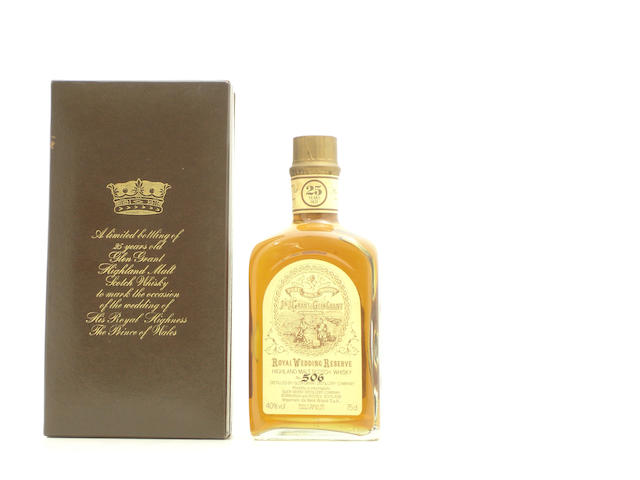 Glent Grant Royal Wedding Reserve-25 year old