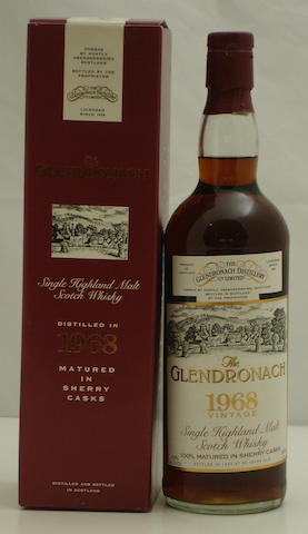 Glendronach-25 year old-1968