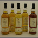 Glen Spey-30 year old-1976<BR /> Glen Spey-29 year old-1976<BR /> Glen Albyn-27 year old-1979<BR /> Glenlossie-27 year old-1978<BR /> Glenlivet-24 year old-1976