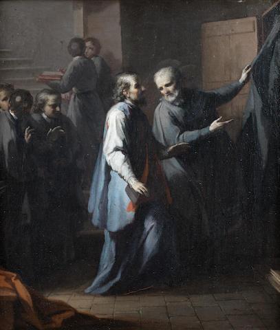 Circle of Giuseppe Maria Crespi (Bologna 1665-1747) The Sacrament of Confession