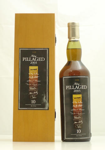 Islay Pillaged Malt-10 year old-2003