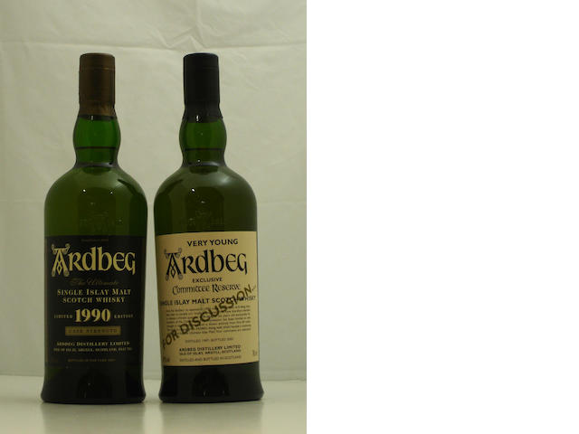 Ardbeg-1990<BR /> Ardbeg Very Young-1997