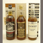 The Dufftown-Glenlivet-8 year old<BR /> Glen Elgin-12 year old<BR /> Linkwood-12 year old