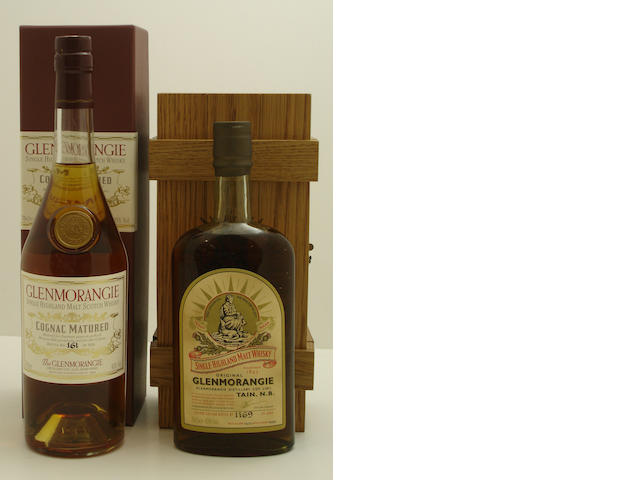 Glenmorangie Cognac Matured<BR /> Glenmorangie Original-1974