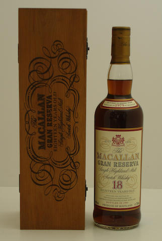 The Macallan Gran Reserva-18 year old-1979