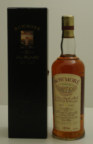 Bowmore-25 year old-1969