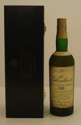 The Glenlivet Silver Jubilee-25 year old