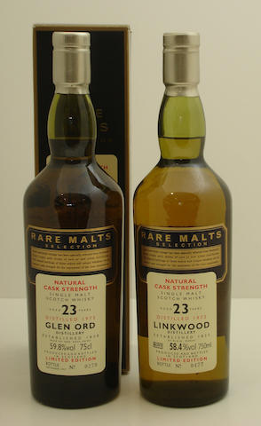Glen Ord-23 year old-1973<BR /> Linkwood-23 year old-1972