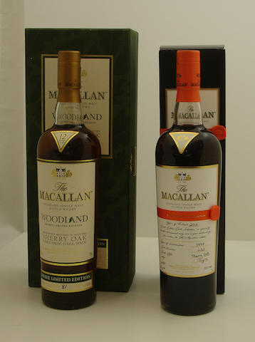 The Macallan Woodland Estate-12 year old<BR /> The Macallan-13 year old-1997