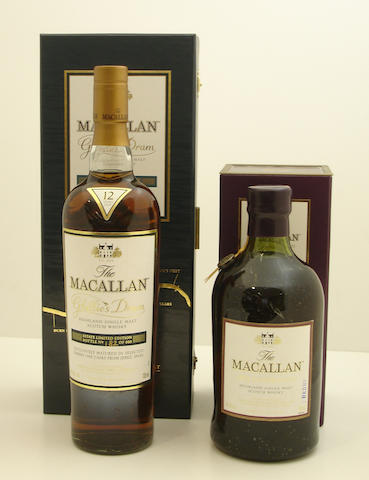 The Macallan Ghillie's Dram-12 year old<BR /> The Macallan-1851 Inspiration