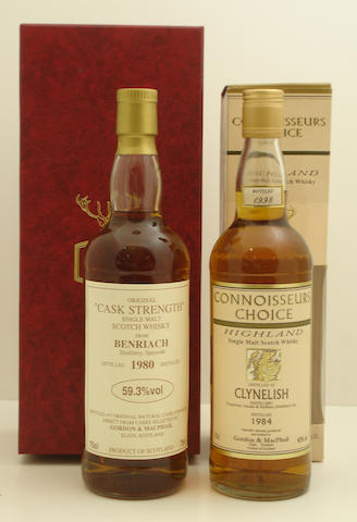 Benriach-1980  Clynelish-1984