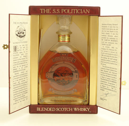 The S. S. Politician Decanter