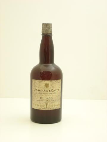 Haig Gold Label-Circa 1940