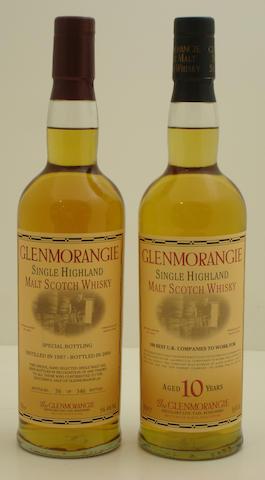 Glenmorangie-1987<BR /> Glenmorangie-10 year old-1993