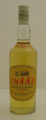 Caol Ila-12 year old