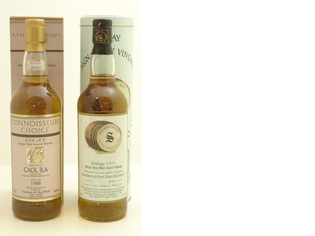 Caol Ila-1988<BR /> Port Ellen-23 year old-1975