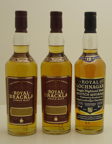 Royal Brackla (2)   Royal Lochnagar-12 year old