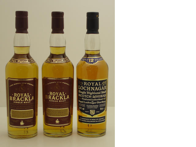 Royal Brackla (2) <BR /> Royal Lochnagar-12 year old
