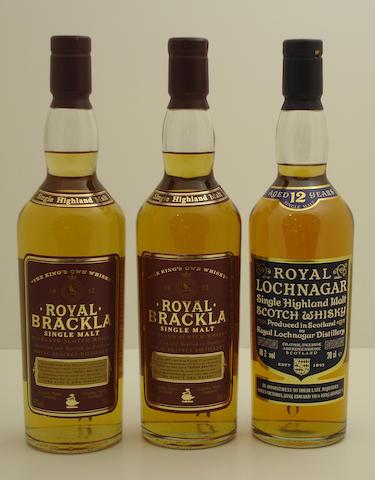 Royal Brackla (2) <BR /> Royal Lochnagar-12 year old