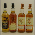 Speymalt Macallan-1997<BR /> Linkwood-13 year old-1990<BR /> Linkwood-14 year old-1990<BR /> Mortlach-14 year old-1990